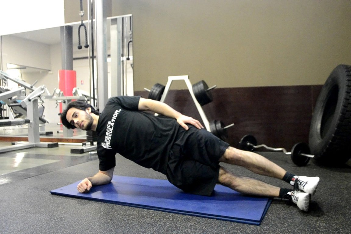 Programme musculation maison pour débutant - Planche côté