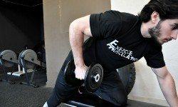 Kickback – Extension des avant-bras avec un haltère
