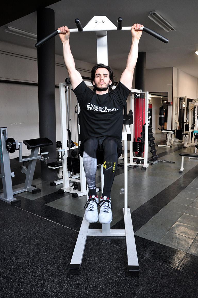 Relevé de jambes suspendu – Exécution