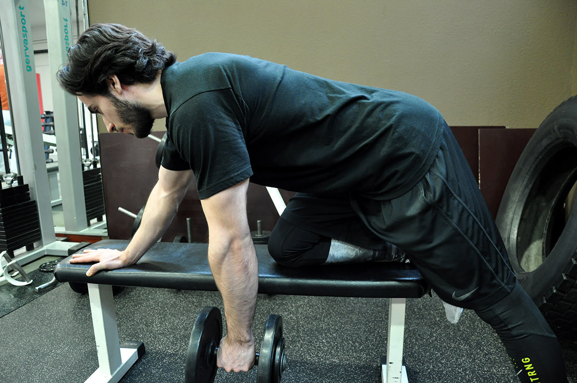 Rowing haltère – Dumbbell row