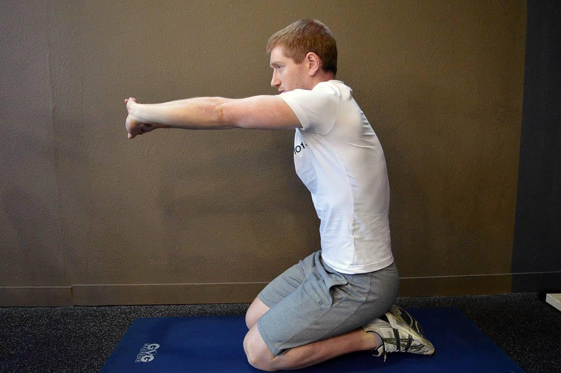 Étirement avant bras - Position 6