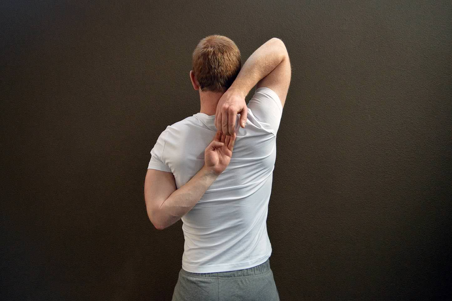 Étirement triceps - Position 3