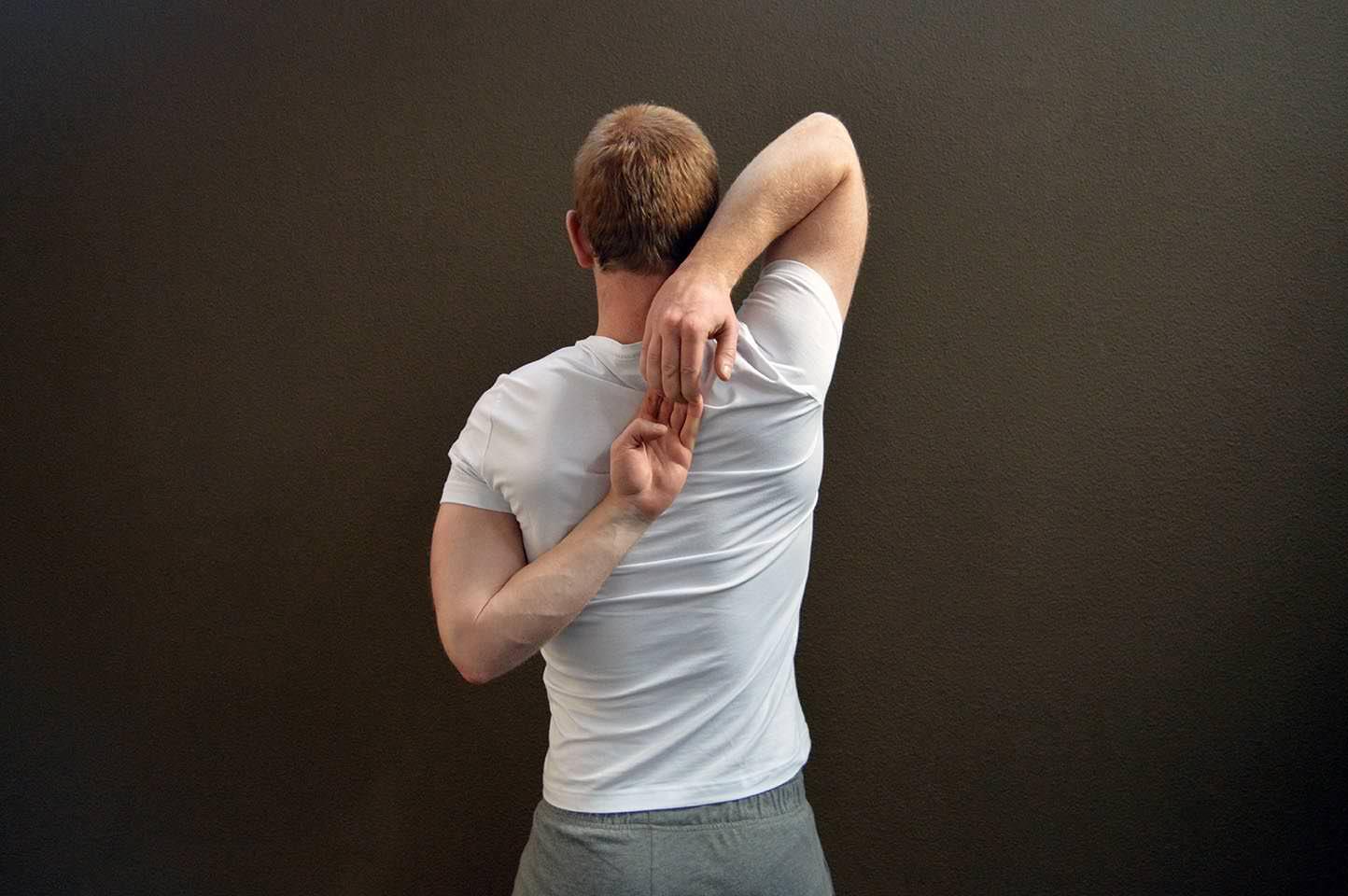 Étirement triceps - Position 3