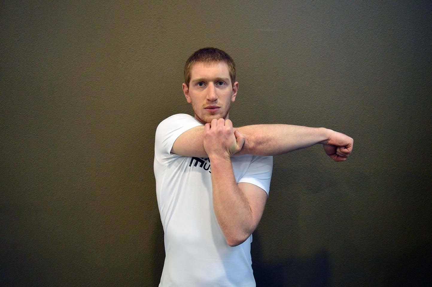 Étirements épaules - Position 1