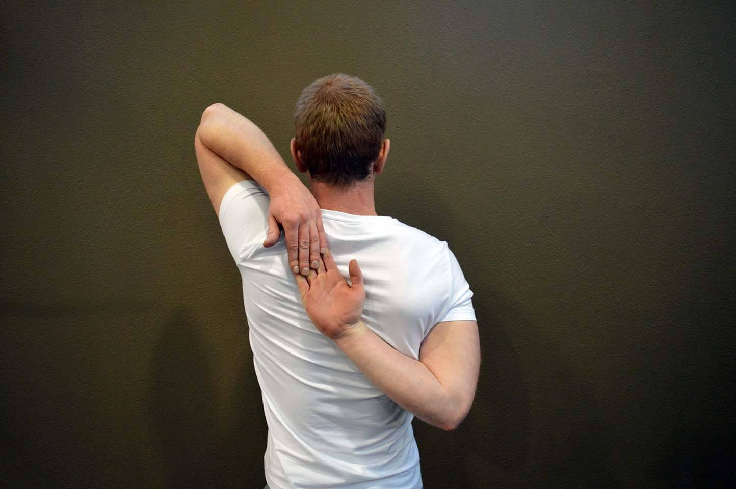 Étirement des épaules - Position 3