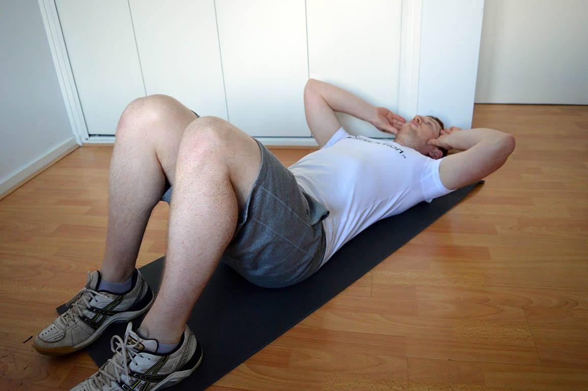 Programme musculation maison pour débutant - Crunch 1