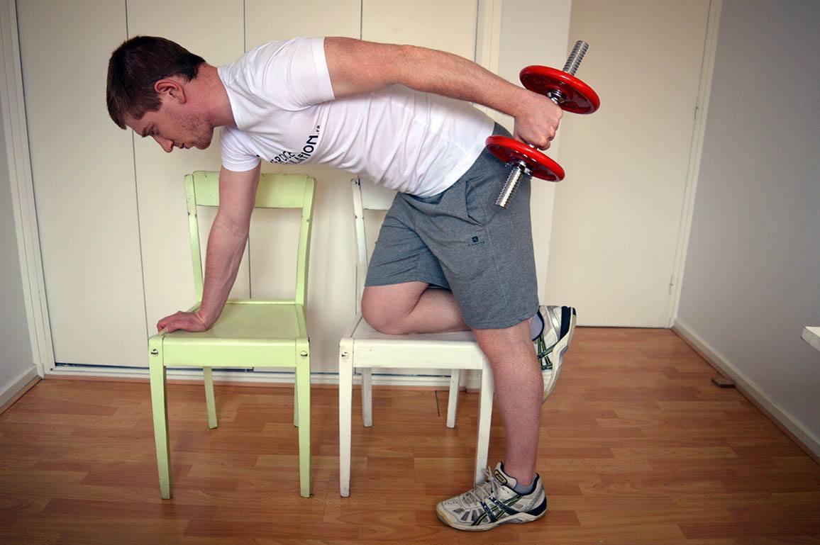 Programme musculation maison pour débutant - Kickback 2