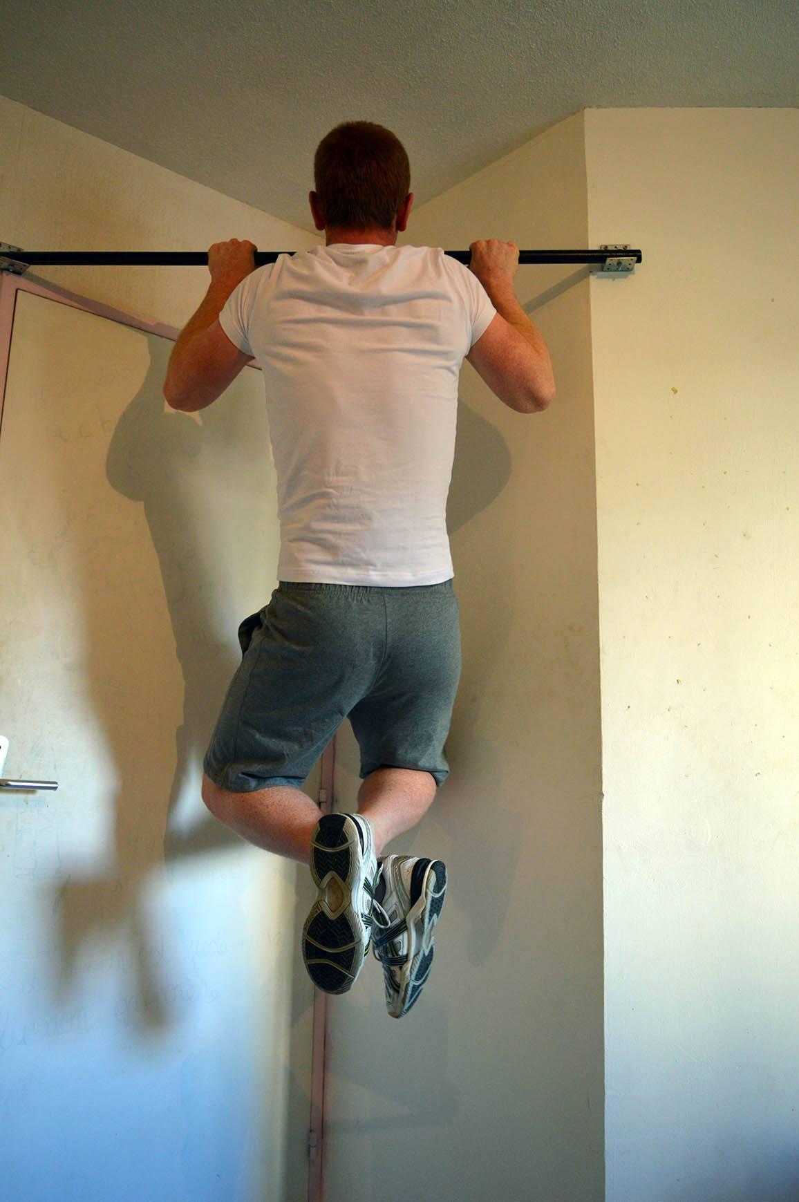 Programme musculation maison pour débutant - Traction 2