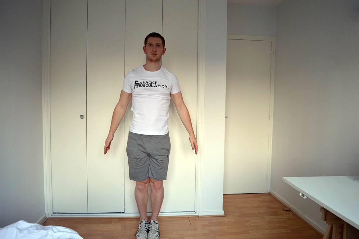 Programme musculation maison pour débutant - Jumping jacks 1