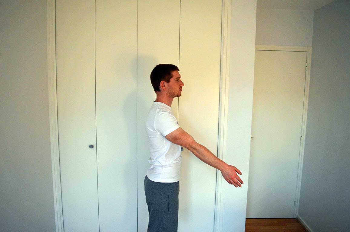 Programme musculation maison pour débutant - Rotation des bras 1