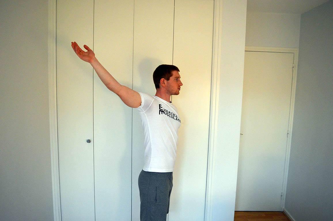 Programme musculation maison pour débutant - Rotation des bras 3