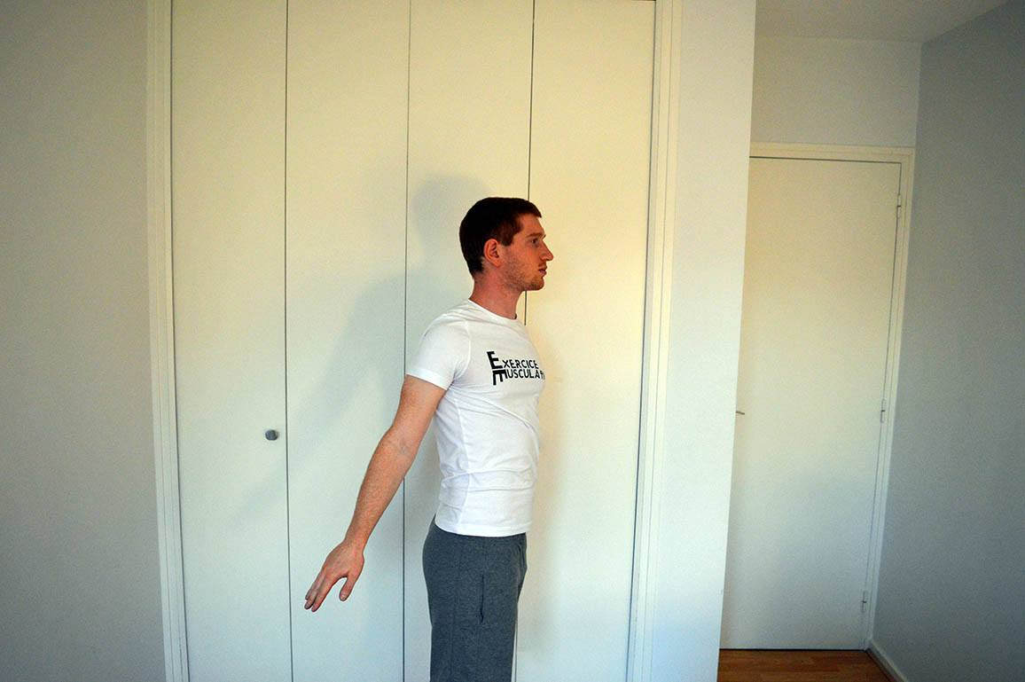 Programme musculation maison pour débutant - Rotation des bras 4