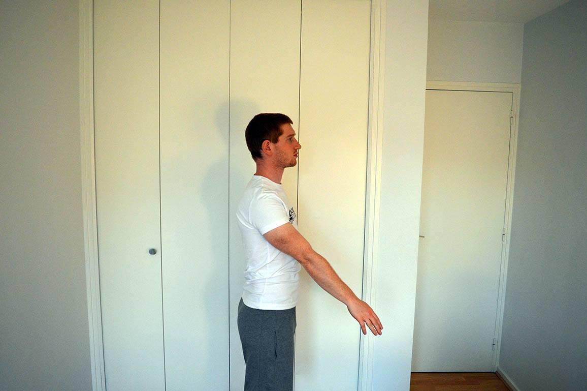 Programme musculation maison pour débutant - Rotation des bras 5