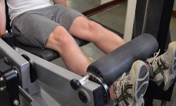 Leg extension – Extension des jambes à la machine