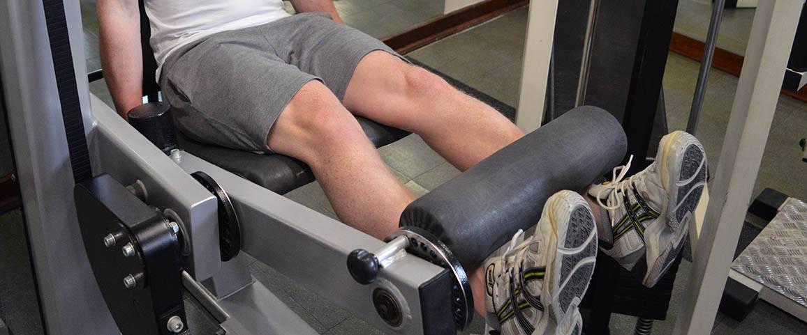 Leg extension – Extension des jambes à la machine