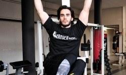Relevé de jambes suspendu – Obliques