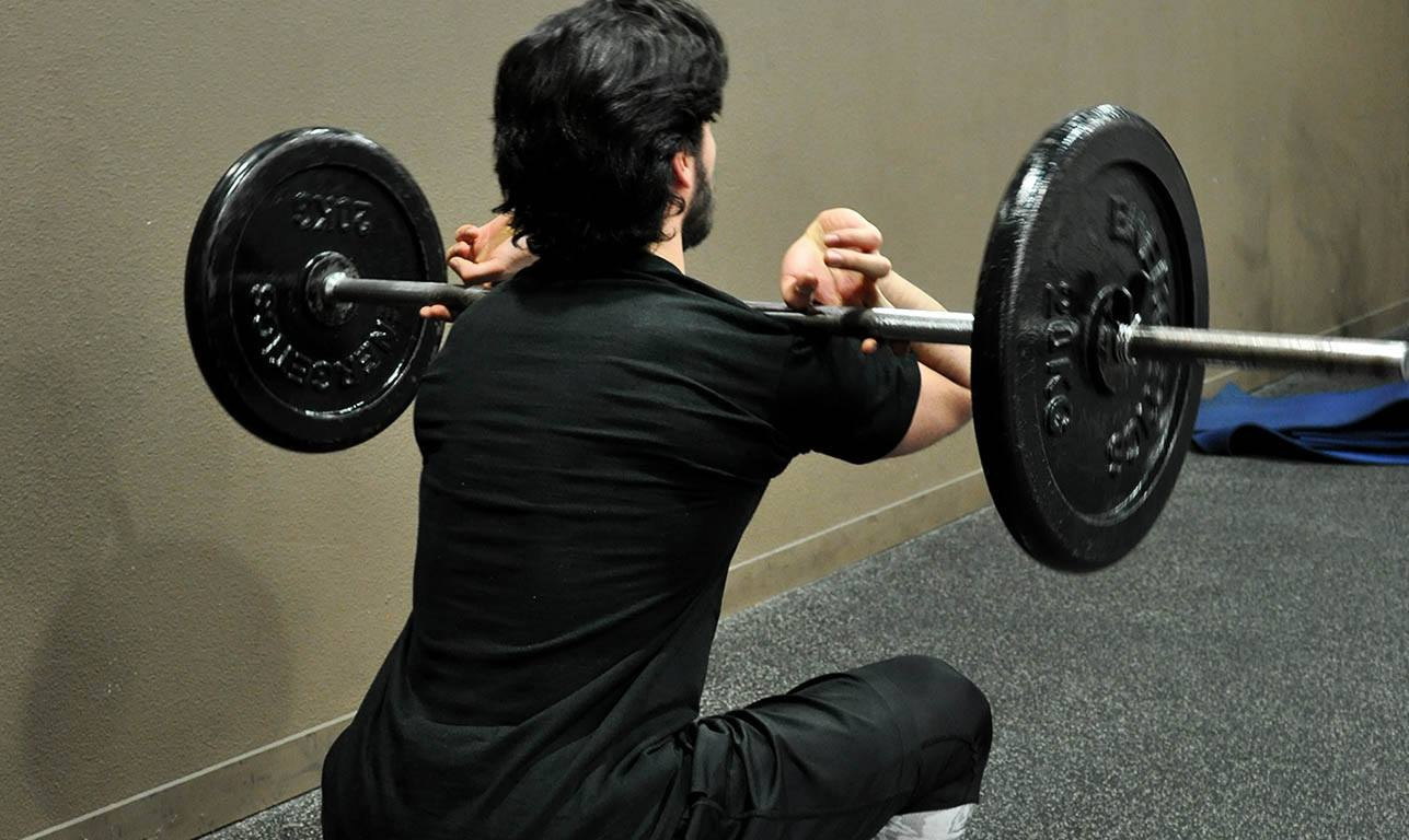 Squat avant – Front squat