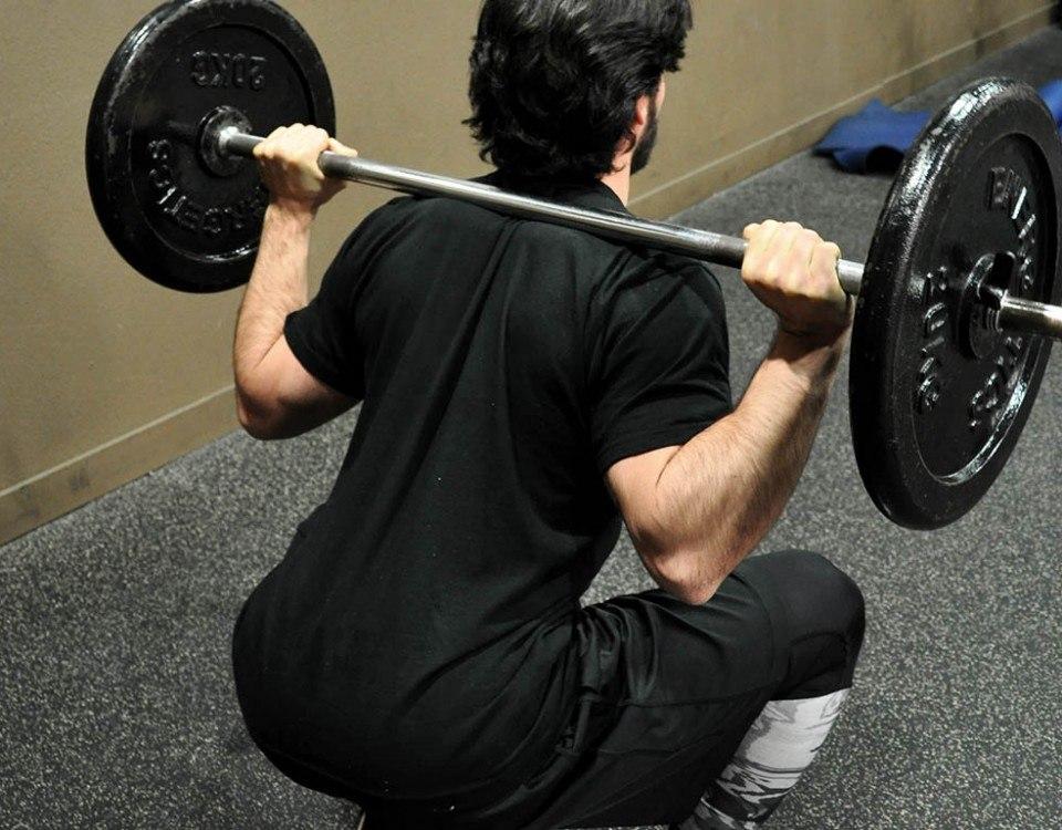 Squats barre - Back squat