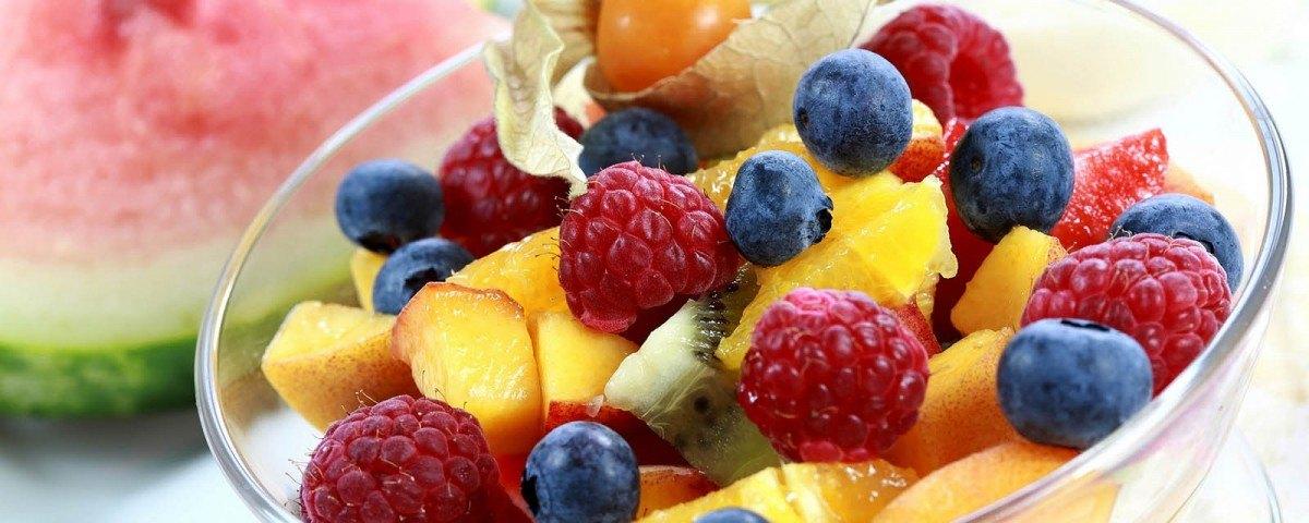 Index glycémique - Coupe de fruits