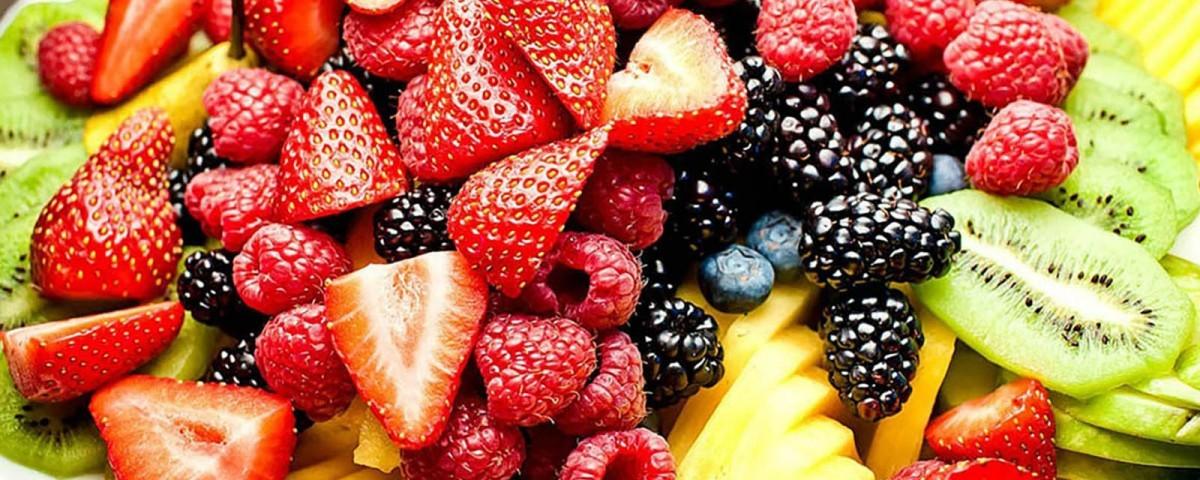 Vitamines - Assiette de fruits