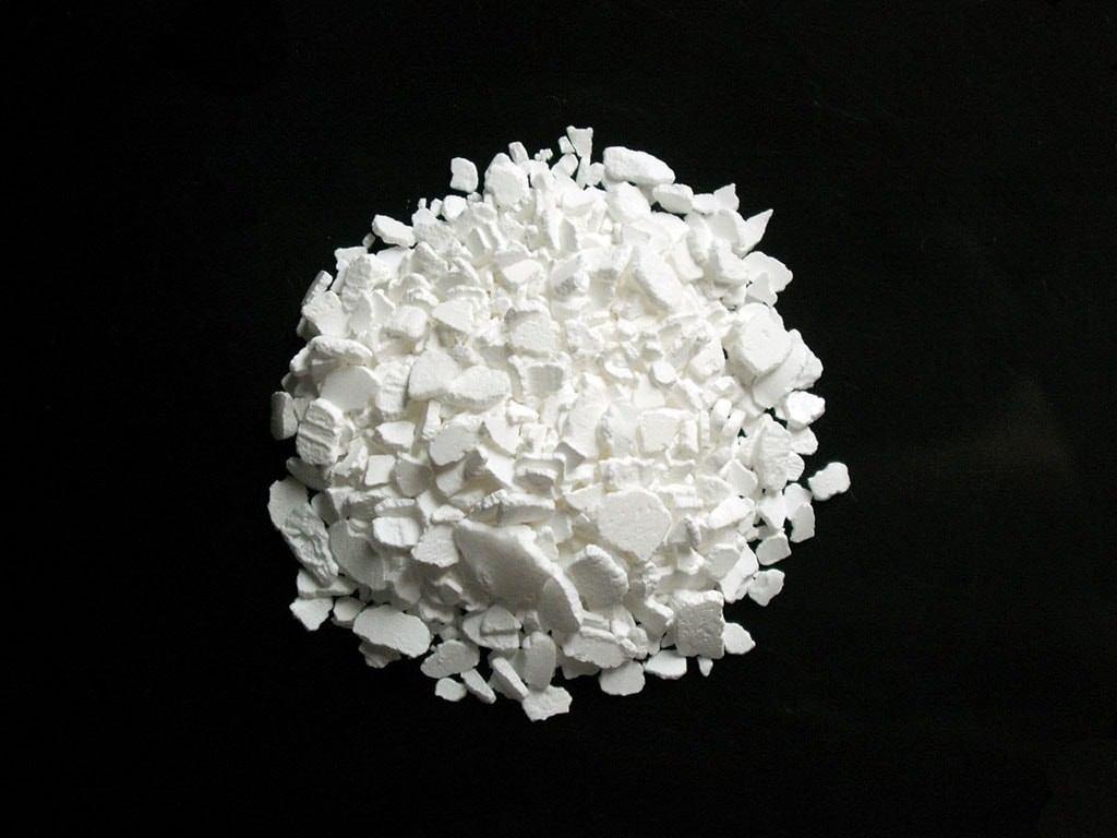 Du calcium solide