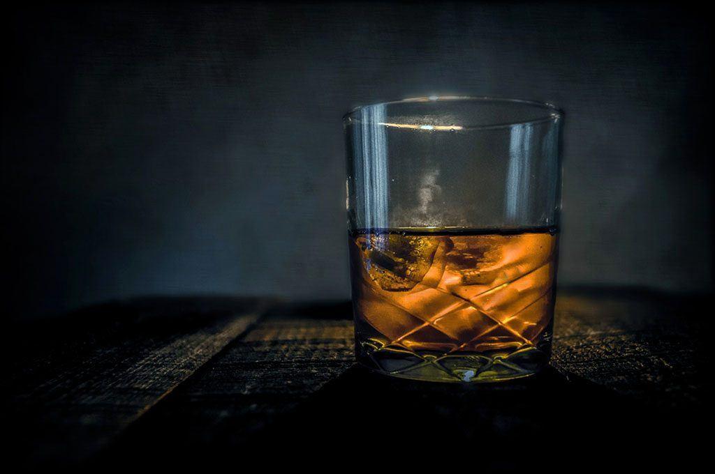 Un shot d'alcool