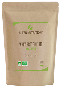 Emballage des protéines Alter Nutrition