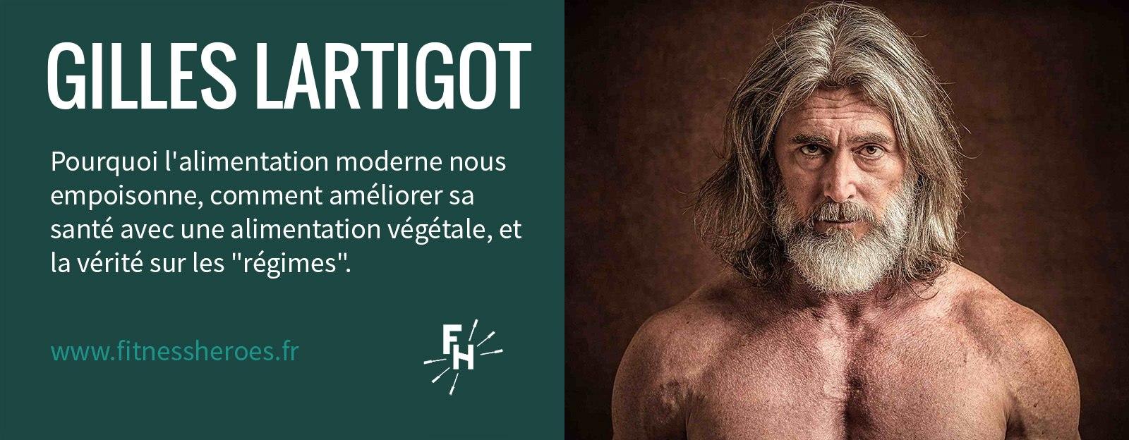 Épisode 01 du Podcast Fitness Heroes avec Gilles Lartigot