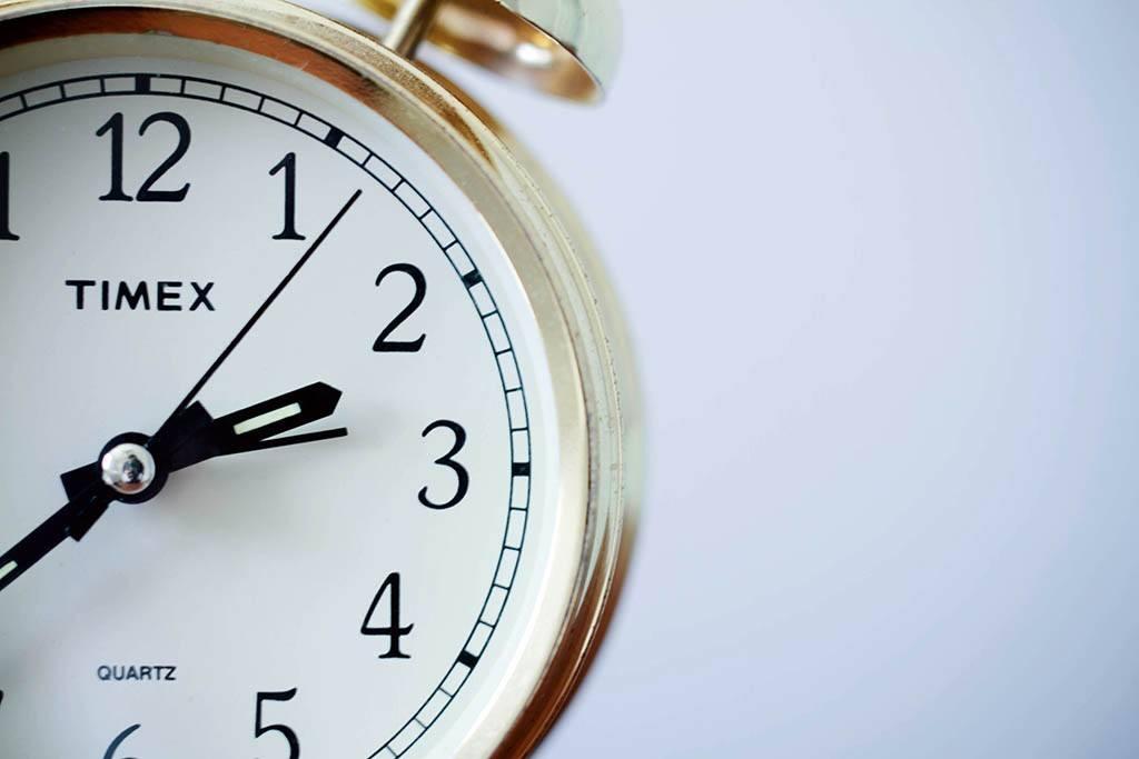 Petit déjeuner et chronobiologie - Une horloge