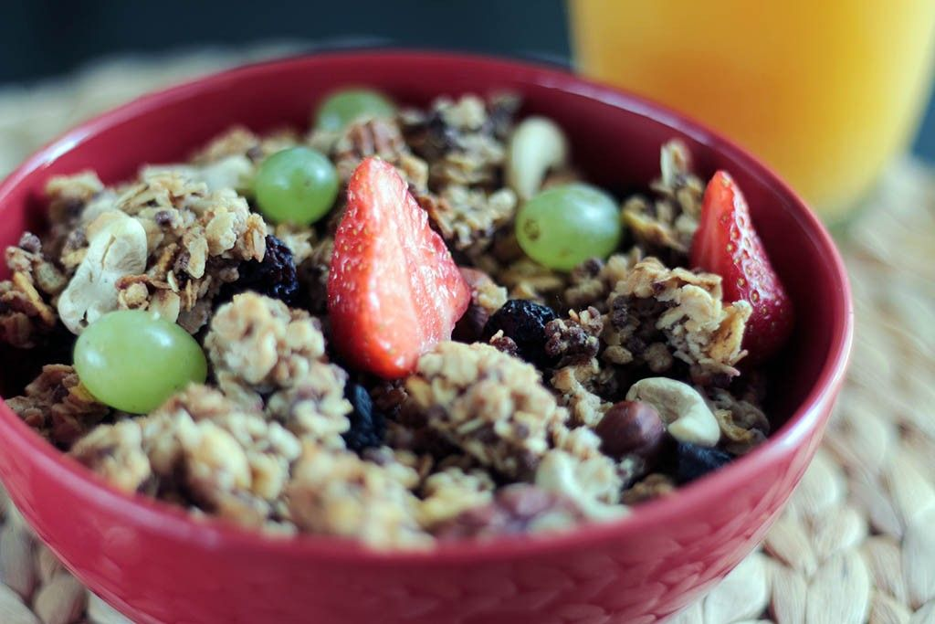 Muesli maison : petit déjeuner idéal