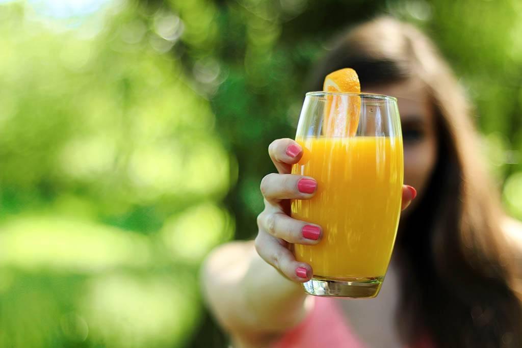 Le jus de fruit - Un piège au petit déjeuner